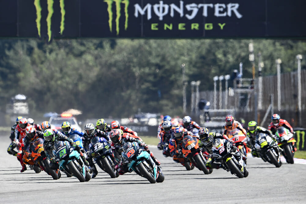 Argentina & USA postponed on revised 2021 MotoGP calendar